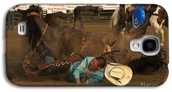 Cowboy Life Photographs Galaxy S4 Cases - Cowboy Art 8 Galaxy S4 Case by Bob Christopher