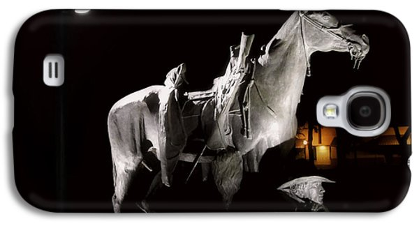 Prescott Photographs Galaxy S4 Cases - Cowboy at Rest Galaxy S4 Case by Christine Till