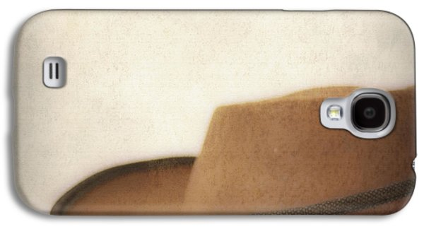Cowboy Life Photographs Galaxy S4 Cases - Cowboy hat Galaxy S4 Case by SK Pfphotography