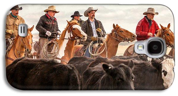Cowboy Posse Galaxy S4 Case by Todd Klassy