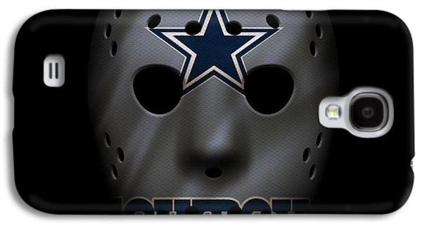 Recently Sold -  - Sports Photographs Galaxy S4 Cases - Cowboys War Mask 2 Galaxy S4 Case by Joe Hamilton