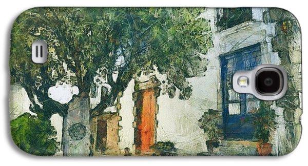 Cozy Garden, Sant Pol De Mar, Spain Galaxy S4 Case by Evgeny Leonov