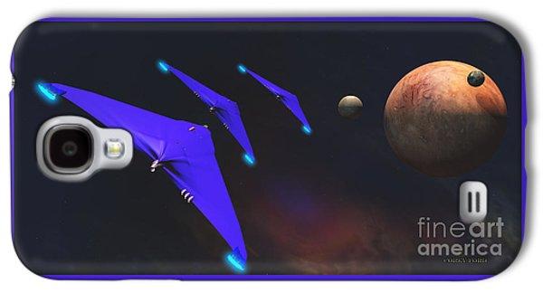 Crab Nebula Galaxy S4 Case by Corey Ford