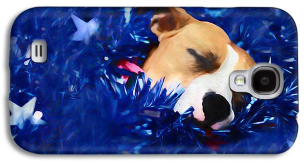 Cradled By A Blanket Of Stars And Stripes Galaxy S4 Case by Shelley Neff