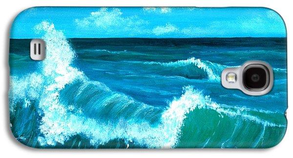 Galaxy S4 Cases - Crashing Wave Galaxy S4 Case by Anastasiya Malakhova