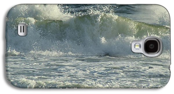 Panama City Beach Galaxy S4 Cases - Crashing Wave Galaxy S4 Case by Sandy Keeton