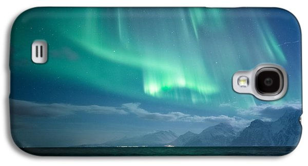 Norway Galaxy S4 Cases - Crashing Waves Galaxy S4 Case by Tor-Ivar Naess