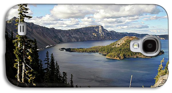 Crater Lake - Intense Blue Waters And Spectacular Views Galaxy S4 Case by Christine Till