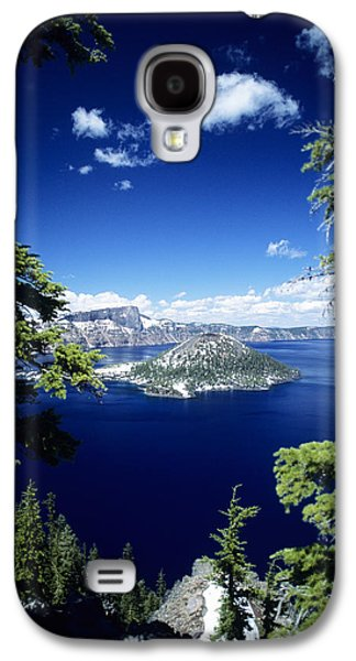 Printscapes - Galaxy S4 Cases - Crater Lake Galaxy S4 Case by Allan Seiden - Printscapes