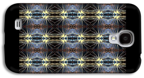 Abstract Digital Tapestries - Textiles Galaxy S4 Cases - CrazieArt Designs by Thi - Gabriella Galaxy S4 Case by Thia Stover