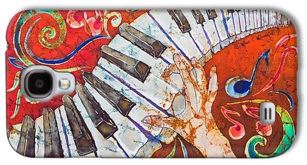 Crazy Fingers - Piano Keyboard  Galaxy S4 Case by Sue Duda
