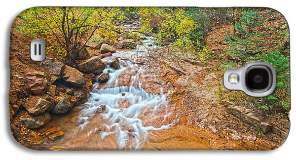 Landmarks Photographs Galaxy S4 Cases - Creek In Our Backyard Canyon Galaxy S4 Case by Bijan Pirnia