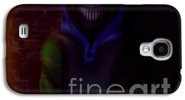 Creepy Galaxy S4 Cases - Creepypasta Ticci Toby Galaxy S4 Case by Reetta Ketola