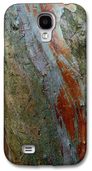 Nature Abstracts Galaxy S4 Cases - Crepe Myrtle Abstract 2 Galaxy S4 Case by Denise Clark