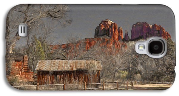 Crescent Moon Ranch Galaxy S4 Case by Donna Kennedy