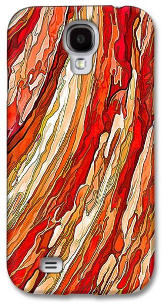 Photo Manipulation Galaxy S4 Cases - Crimson Tide Galaxy S4 Case by Bill Caldwell -        ABeautifulSky Photography
