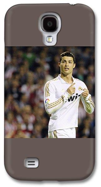 Cristiano Ronaldo 4 Galaxy S4 Case by Rafa Rivas
