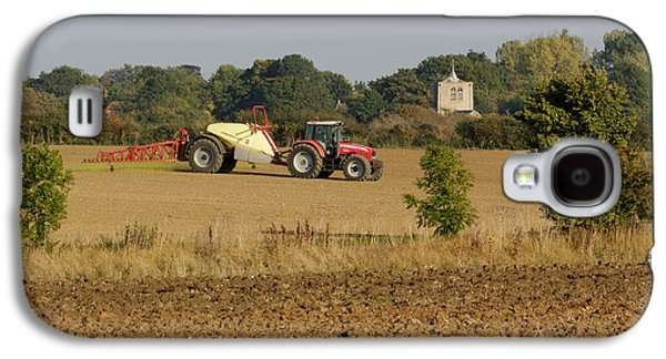 Machinery Galaxy S4 Cases - Crop spraying  Galaxy S4 Case by Katey jane Andrews