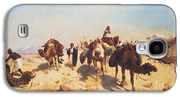 Crossing The Desert Galaxy S4 Case by Jean Leon Gerome