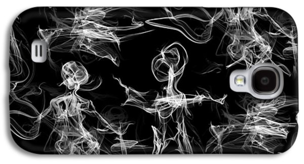 Crowded Faces, Visions, Revelations Every Day Galaxy S4 Case by Abstract Angel Artist Stephen K