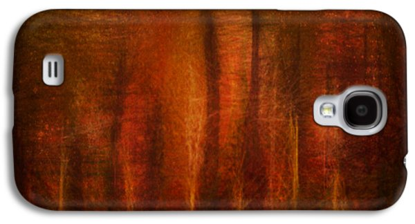 Abstract Digital Mixed Media Galaxy S4 Cases - Crowded Forest Galaxy S4 Case by Aurora Art