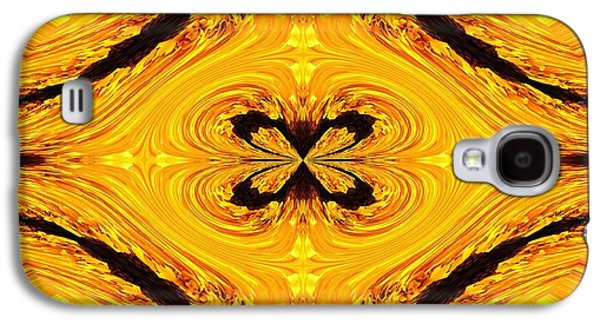 Colorful Abstract Galaxy S4 Cases - Crrackerjack Abstract Galaxy S4 Case by J McCombie