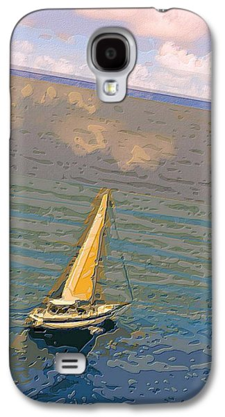 Best Sailing Photos Galaxy S4 Cases - Cruising the Caribbean  Galaxy S4 Case by Larry E Lamb