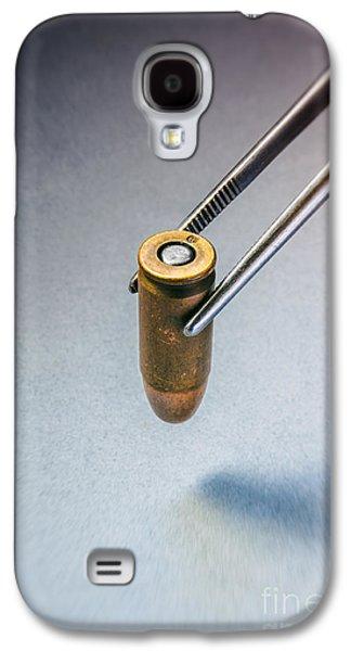Csi Bullet Evidence Galaxy S4 Case by Carlos Caetano