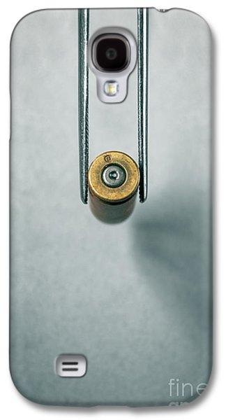 Csi Bullet Shell Evidence  Galaxy S4 Case by Carlos Caetano