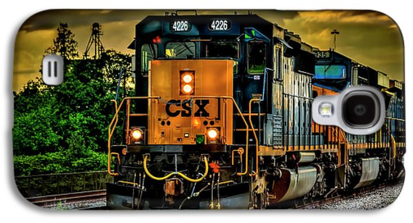 Csx 4226 Galaxy S4 Case by Marvin Spates