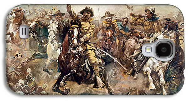 Republican Party Galaxy S4 Cases - Cuba: Rough Riders, 1898 Galaxy S4 Case by Granger