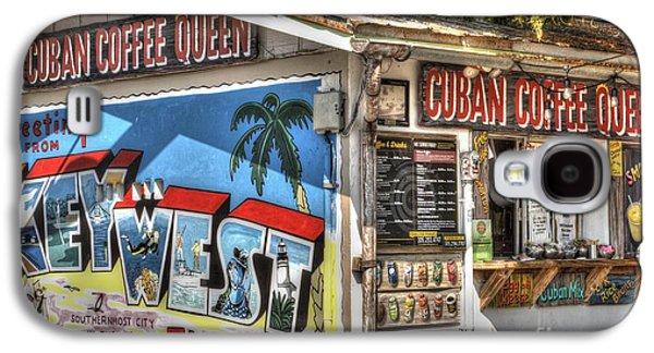 Mural Photographs Galaxy S4 Cases - Cuban Coffee Queen Galaxy S4 Case by Juli Scalzi