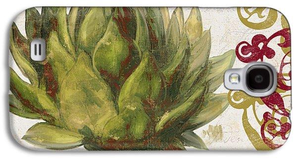 Cucina Italiana Artichoke Galaxy S4 Case by Mindy Sommers