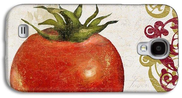 Spaghetti Galaxy S4 Cases - Cucina Italiana Tomato Pomodoro Galaxy S4 Case by Mindy Sommers