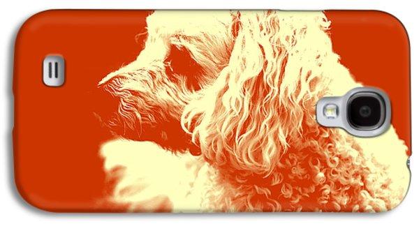 Puppies Digital Art Galaxy S4 Cases - Cuddles Galaxy S4 Case by Brandon Roberts