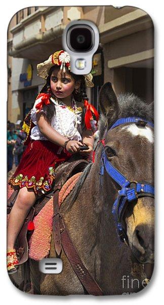Girl Galaxy S4 Cases - Cuenca Kids 643 Galaxy S4 Case by Al Bourassa