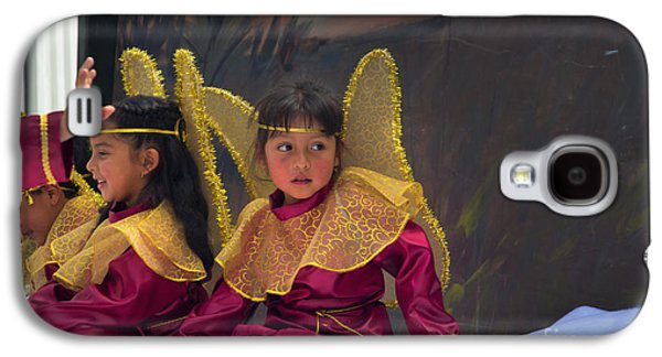 Girl Galaxy S4 Cases - Cuenca Kids 645 Galaxy S4 Case by Al Bourassa