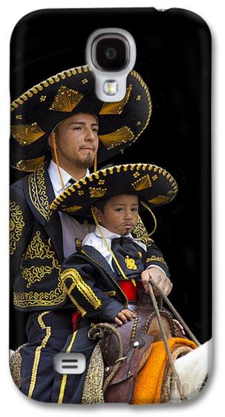 Smiling Jesus Galaxy S4 Cases - Cuenca Kids 648a Galaxy S4 Case by Al Bourassa