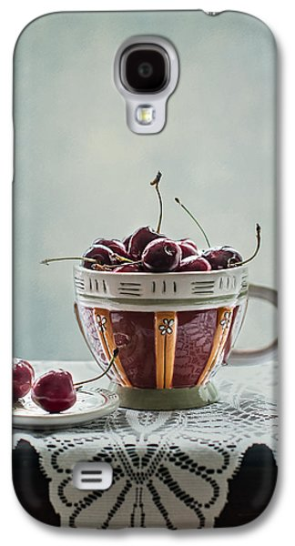Cup Of Cherries Galaxy S4 Case by Maggie Terlecki