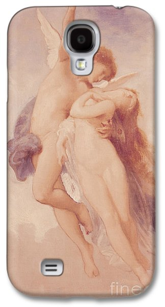 Cupid And Psyche Galaxy S4 Case by William Adolphe Bouguereau