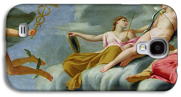 Ancient Galaxy S4 Cases - Cupid orders Mercury to announce the Power of Love to the Universe Galaxy S4 Case by Eustache Le Sueur