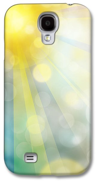 Sun Galaxy S4 Cases - Cute Summer Galaxy S4 Case by Atiketta Sangasaeng
