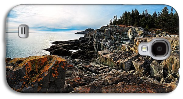 Coastal Maine Galaxy S4 Cases - Cutler Coast Stillness Galaxy S4 Case by Bill Caldwell -        ABeautifulSky Photography