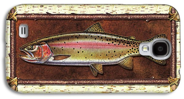 Cutthroat Trout Lodge Galaxy S4 Case by JQ Licensing