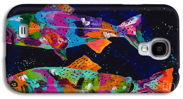 Splashy Art Galaxy S4 Cases - Cutthroats Galaxy S4 Case by Tracy Miller