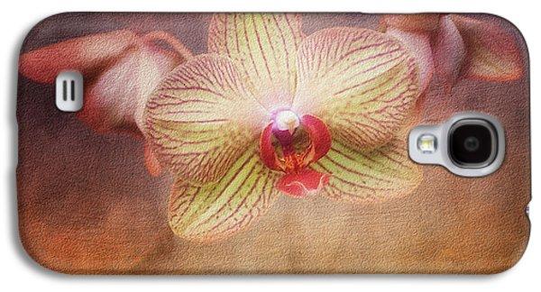 Cymbidium Orchid Galaxy S4 Case by Tom Mc Nemar