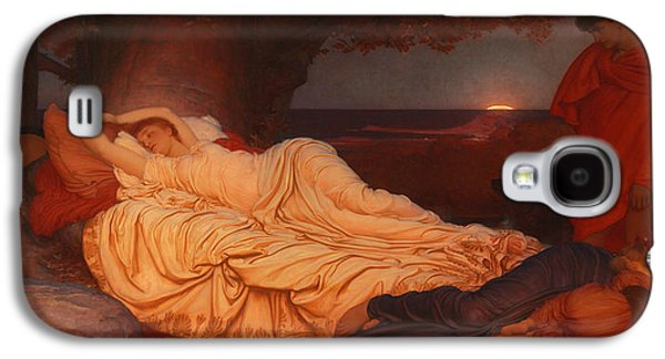 Cymon Looks Down On The Sleeping Iphigenia Galaxy S4 Case by Celestial Images