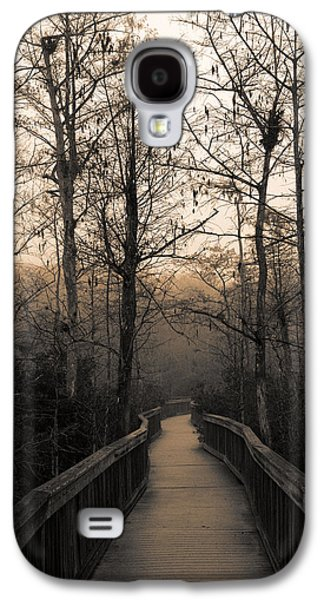 Cypress Swamp Galaxy S4 Cases - Cypress Boardwalk Galaxy S4 Case by Gary Dean Mercer Clark