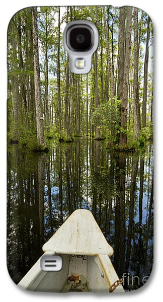 Cypress Swamp Galaxy S4 Cases - Cypress Garden Swamp Galaxy S4 Case by Dustin K Ryan