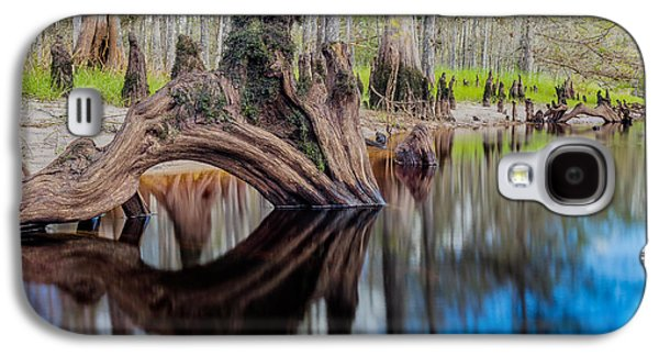 Cypress Knee In Fisheating Creek Galaxy S4 Case by Andres Leon